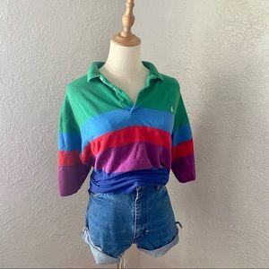 Vintage Polo Ralph Lauren Color Block Shirt